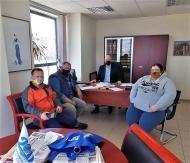 Με εκπροσώπους της κυνοφιλίας συναντήθηκε ο πρόεδρος του Περιφερειακού Συμβουλίου Τάκης Παπαδόπουλος
