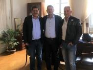 Συνάντηση του Αντιπεριφερειάρχη Θ. Βασιλόπουλου με το Δήμαρχο Πατρέων Κ. Πελετίδη