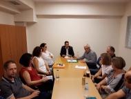 Σύσκεψη για την επίσπευση των φακέλων βελτίωσης και ανάπτυξης μικρών γεωργικών εκμεταλλεύσεων υπό τον Αντιπεριφερειάρχη Θ. Βασιλόπουλο