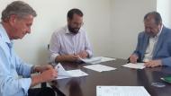 Υπογραφή προγραμματικής σύμβασης για την αναβάθμιση του κεντρικού αντλιοστασίου λυμάτων Αιγίου