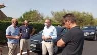 Επίσκεψη του Αντιπεριφερειάρχη Χ. Μπονάνου στο Ίσωμα - Σε εξέλιξη οι εργασίες οδοποιίας