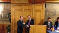 Ο Αντιπεριφερειάρχης Λάμπρος Δημητρογιάννης εκπροσώπησε την Π.Δ.Ε. στην Ελληνογερμανική Συνέλευση