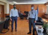 Συνάντηση Αντιπεριφερειάρχη Π.Ε. Ηλείας Β. Γιαννόπουλου με Διευθυντές Εκπαίδευσης