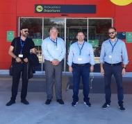 Επίσκεψη του Αντιπεριφερειάρχη Πολιτισμού και Τουρισμού Νικόλαου Κοροβέση στο Αεροδρόμιο Ακτίου-Βόνιτσας