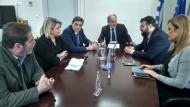 Απόστολος Κατσιφάρας: Η Περιφέρεια στηρίζει τους Παράκτιους Μεσογειακούς Αγώνες της Πάτρας - Συνάντηση του Περιφερειάρχη με τον Υφυπουργό Αθλητισμού Γ. Βασιλειάδη