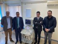 Δωρεά σύγχρονου διαγνωστικού μηχανήματος (υπερήχου) στο Κ.Υ. Ακράτας