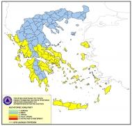 Υψηλός κίνδυνος πυρκαγιάς σε Ηλεία και Αχαΐα και για την Παρασκευή 31 Ιουλίου 2020