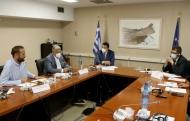 Στη συνεδρίαση της ΕΝΠΕ με τον Ευρωπαίο Επίτροπο Διαχείρισης Κρίσεων ο Περιφερειάρχης Δυτικής Ελλάδας Νεκτάριος Φαρμάκης