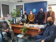 Συνάντηση του Αντιπεριφερειάρχη, Π. Σακελλαρόπουλου με τους Προέδρους των Τοπικών Κοινοτήτων Πιτίτσας, Αργυρών και Σελλών