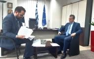 Την απορρόφηση της τοπικής αγροτικής παραγωγής προς όφελος των ευάλωτων πληθυσμιακών ομάδων προτείνει ο Νεκτάριος Φαρμάκης