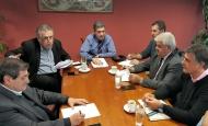 Συνάντηση Γρ. Αλεξόπουλου με τους  Δημάρχους Πατρέων, Δυτικής Αχαΐας και Ερυμάνθου