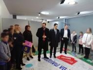 Ο Νεκτάριος Φαρμάκης στα εγκαίνια του θεματικού πάρκου «Κόκκινο στα Ατυχήματα – Πράσινο στη Ζωή», στο Αγρίνιο