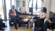 Συνάντηση του Περιφερειάρχη με την Πρόεδρο της Επιτροπής «Ελλάδα 2021» Γιάννα Αγγελοπούλου-Δασκαλάκη