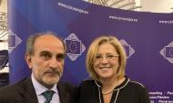 Συνάντηση του Περιφερειάρχη Απόστολου Κατσιφάρα με την Ευρωπαία Επίτροπο Κορίνα Κρέτσου
