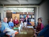Συνάντηση του Αντιπεριφερειάρχη, Παναγιώτη Σακελλαρόπουλου με στελέχη της Αποκεντρωμένης Διοίκησης
