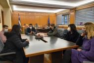 Συνάντηση Αντιπεριφερειάρχη Π.Ε. Ηλείας Β. Γιαννόπουλου, με προσληφθέντες στην Π.Π. Π.Ε. Ηλείας