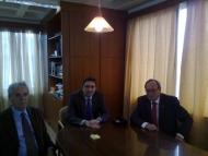 Επίσκεψη του Γερμανού πρέσβη στην Περιφέρεια Δυτικής Ελλάδας