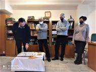 Κοπή πρωτοχρονιάτικης πίτας στα γραφεία της Γενικής Διεύθυνσης Αγροτικής Οικονομίας και Κτηνιατρικής