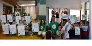 Πάνω από 1.000 παιδιά στην Αιτωλοακαρνανία προγραμμάτισαν ρομποτικό μηχανισμό που ζωγραφίζει, συμμετέχοντας στην ευρωπαϊκή εβδομάδα προγραμματισμού