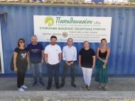 Επίσκεψη Λ. Δημητρογιάννη σε παραγωγικές μονάδες που ακολουθούν καινοτόμες μεθόδους επεξεργασίας λυμάτων και παραγωγής βιοενέργειας
