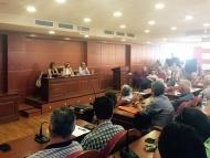 Σύσκεψη στα γραφεία της Περιφερειακή Ενότητας με ΓΟΕΒ και ΤΟΕΒ