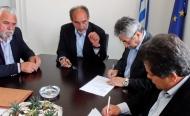 Υπογραφή σύμβασης ανακατασκευής τμημάτων στην Πατρών - Πύργου