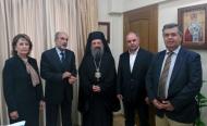 Υποστηρικτής της προσπάθειας της Περιφέρειας Δυτικής Ελλάδας για την προστασία της κατοικίας ο Σεβασμιότατος Μητροπολίτης Πατρών κ. Χρυσόστομος