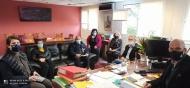 Σύσκεψη υπό τον Αντιπεριφερειάρχη Περιφερειακής Ενότητας Αχαΐας, Χαράλαμπο Μπονάνο για τα μέτρα covid ενόψει του τριημέρου