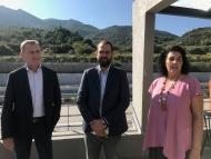 Επίσκεψη του Νεκτάριου Φαρμάκη στην Ολυμπία Οδό, στο πλαίσιο της καμπάνιας «Η Ευρώπη στην Περιφέρειά μου» - «Μόνο μέσα από την ολοκλήρωση τέτοιων οδικών αξόνων μπορούμε να ελπίζουμε σε κάτι καλύτερο στη Δυτική Ελλάδα»