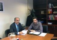 Συνάντηση Περιφερειάρχη Απ Κατσιφάρα με τον γγ Δημοσίων Επενδύσεων ΕΣΠΑ Παν. Κορκολή