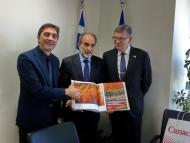 Συνάντηση του Καναδού Πρέσβη με τον Περιφερειάρχη Δυτικής Ελλάδας