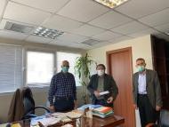 Επαφές του Αντιπεριφερειάρχη Π.Ε. Αχαΐας Χαράλαμπου Μπονάνου με εκπροσώπους των παραγωγικών τάξεων για τα μέτρα προστασίας