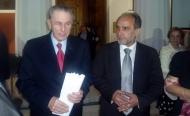 Συνάντηση του Περιφερειάρχη Δυτικής Ελλάδας Απόστολου Κατσιφάρα με τον Πρόεδρο της ΔΟΕ Ζακ Ρόγκ