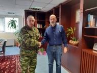 Τον Αντιπεριφερειάρχη Αχαΐας Χαράλαμπο Μπονάνο επισκέφθηκε ο Διοικητή ΚΕΤΧ Στυλιανός Καλαϊτζίδης