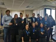 Την πρωταθλήτρια ομάδα Νέων Γυναικών της ΝΕΠ υποδέχθηκε ο Περιφερειάρχης Απόστολος Κατσιφάρας