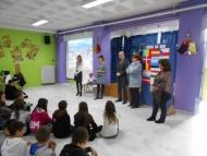 Απονομή βραβείου στους μαθητές του Δημοτικού Σχολείου Ρίου για το βίντεο «Why Europe is You»