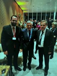 Πρόσκληση του Νεκτάριου Φαρμάκη προς τον Πρόεδρο της Δ.Ο.Ε. Τόμας Μπαχ να επισκεφθεί τη Δυτική Ελλάδα