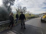 Συνεχίζονται οι εργασίες αποκατάστασης σε επαρχιακά οδικά τμήματα της πρώην επαρχίας Τριχωνίδας