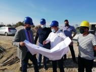 Επίσκεψη περιφερειάρχη Νεκταρίου Φαρμάκη στις υπό κατασκευή σχολικές μονάδες του δήμου Ανδραβίδας - Κυλλήνης