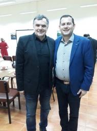 Συνεργασία του Αντιπεριφερειάρχη Θ. Βασιλόπουλου με τον Πρόεδρο του Διεθνούς Διαγωνισμού Ελαιολάδου Dr Antonio Giuseppe Lauro