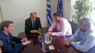 Συνάντηση του Περιφερειάρχη με τους διοργανωτές των ευρωπαϊκών ιστιοπλοϊκών αγώνων - Απ. Κατσιφάρας: Αναδείξατε τη δύναμη της περιοχής στον θαλάσσιο στίβο