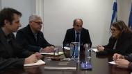 Συνάντηση του Περιφερειάρχη Απόστολου Κατσιφάρα με την Υφυπουργό Αγροτικής Ανάπτυξης και Τροφίμων Ολυμπία Τελιγιορίδου για τη στήριξη του πρωτογενούς τομέα