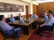 Συνάντηση Αντιπεριφερειάρχη Π.Ε. Ηλείας Βασίλη Γιαννόπουλου με τη Διοικητική Επιτροπή του Επιμελητηρίου Ηλείας