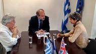 Η Πρέσβης της Αγγλίας συναντήθηκε με τον Περιφερειάρχη Δυτικής Ελλάδας