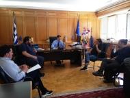 Συνάντηση Αντιπεριφερειάρχη Π.Ε. Ηλείας με επαγγελματίες εστίασης
