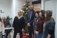 Τα πρώτα χριστουγεννιάτικα κάλαντα στον Περιφερειάρχη από το Μουσικό Σχολείο Πάτρας