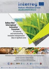 Ολοκληρώθηκε ο διαγωνισμός καινοτόμων ιδεών στον τομέα της αγροδιατροφής – Κατατέθηκαν 72 προτάσεις για το έργο AGROINNOECO