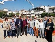"""Ο Νεκτάριος Φαρμάκης στη θεμελίωση της νέας μονάδας της """"ΜΕΡΙΜΝΑΣ"""""""