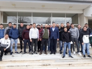 Τη Γαλακτοκομική Σχολή Ιωαννίνων επισκέφτηκε ο Αντιπεριφερειάρχης Αγροτικής Ανάπτυξης Θ. Βασιλόπουλος