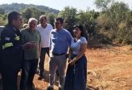 Κοντά στις δυνάμεις της Πυροσβεστικής η Αντιπεριφερειάρχης ΠΕ Αιτωλοακαρνανίας Μαρία Σαλμά